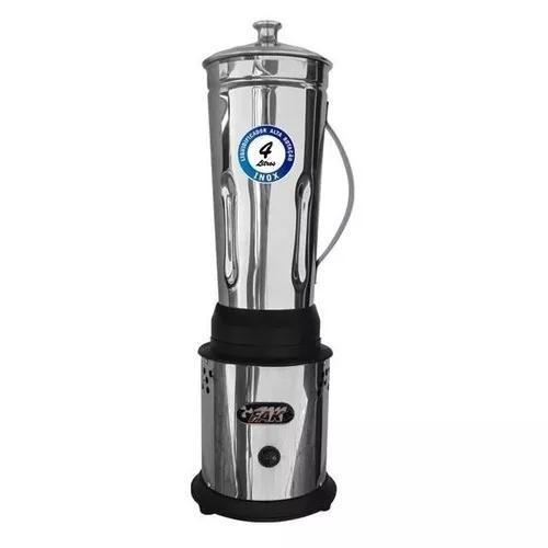 Liquidificador industrial profissional alta rotação 4 lts