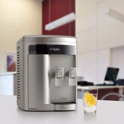Purificador de água ibbl fr600 exclusive prata - 220v