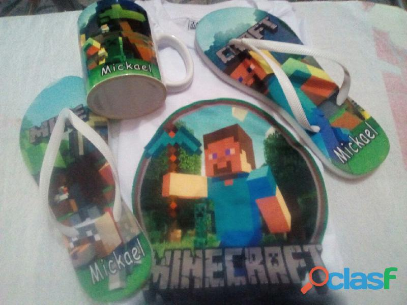 Kit Minecraft Personalizado