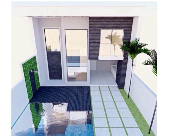 Adriana - terreno 153m2 - construção casa 2 suítes