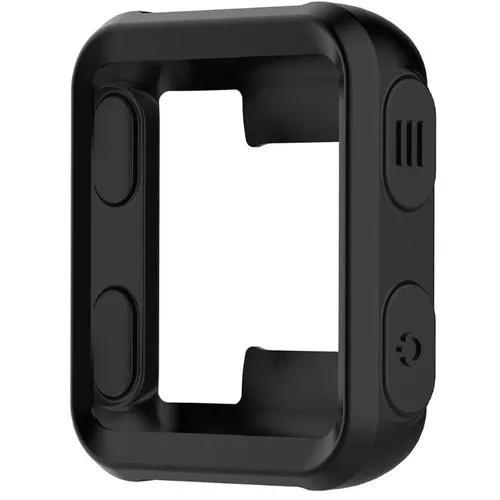 Capa case protetora proteção silicone p garmin forerunner