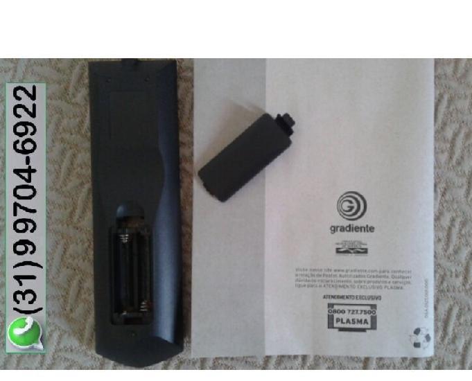 Controle remoto (nunca usado) e manual originais | tv gradie