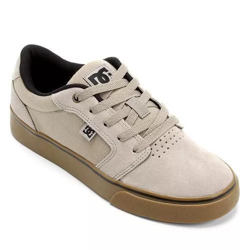 Tênis dc shoes anvil la grey gum original frete gratis 8b318124524fe