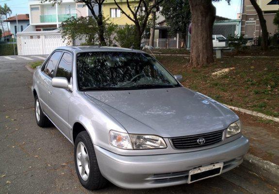 Toyota, Corolla, XEI, 1 8, ano/mod  2001/2001, Gasolina