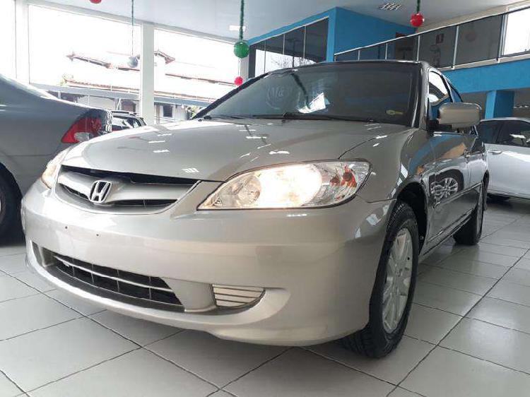 Honda civic sedan lxl 1.7 16v 130cv mec 4p