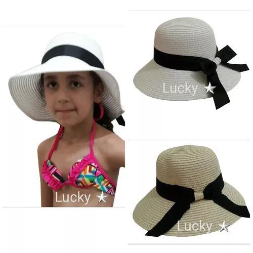 6 chapéu praia infantil criança 10 á 14 anos menina a5efafe05d1