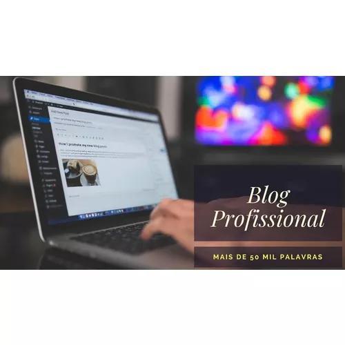 Blog profissional