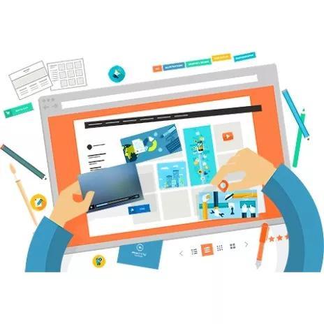 Criação de sites + hospedag