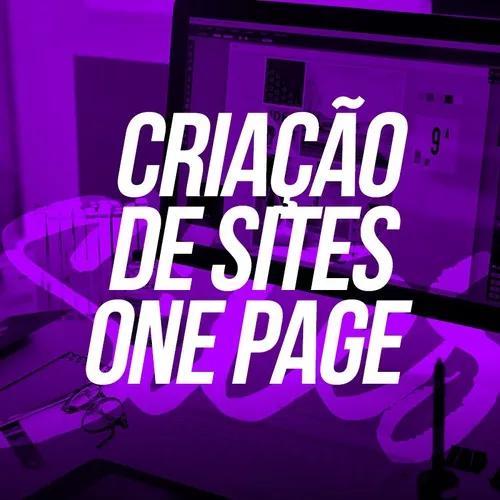 Criação site profissional one page landing page mini site
