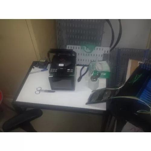 Fusão de fibra óptica sm/mm e serviços de redes