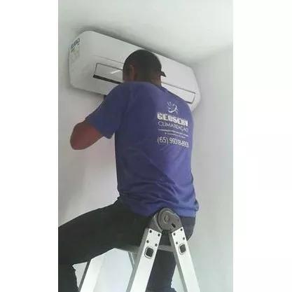 Instalação Ar Split E Serviços Manutenção R