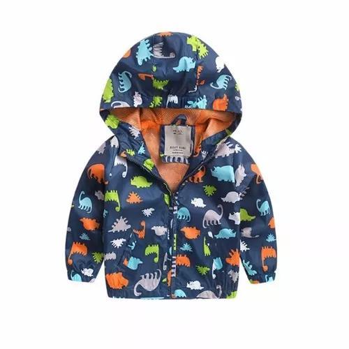 Jaqueta infantil estampa dinossauro casaco
