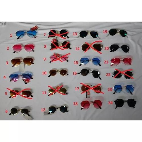 Kit 3 óculos de sol infantil,proteção uv400 varios
