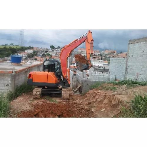 Locação de mini escavadeira e retroescavadeira