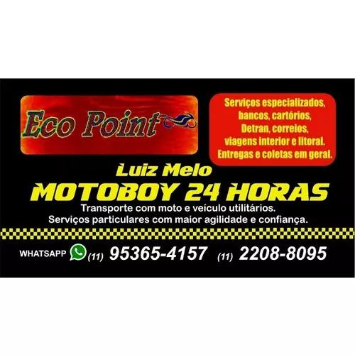 Motoboy 24 horas zona norte, sul, leste, oeste, loggi