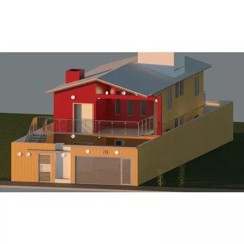 Projetos arquitetônicos (desenho de casas/imóveis)