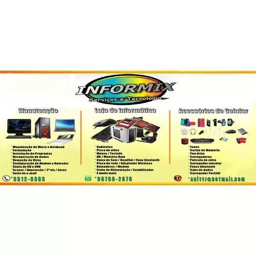 Serviços e vendas produtos de informatica e celulares