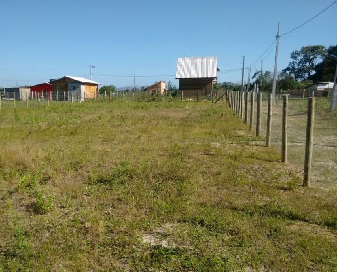 Terreno de 711 m2 perto de garopaba e imbituba