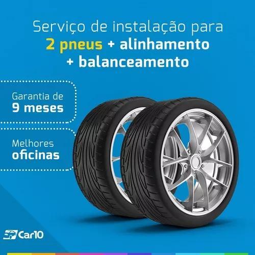 Alinhamento + balanceamento + instalação para 2 pneus