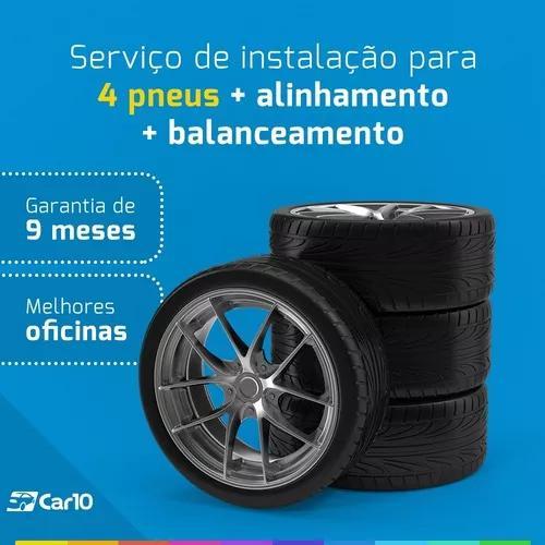 Alinhamento + balanceamento + instalação para 4 pneus