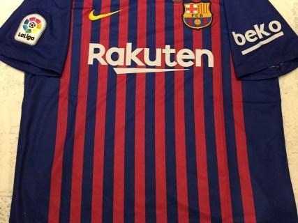 Camisa barcelona home 18/19 torcedor nike masculina
