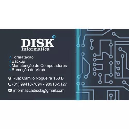 Disk informática - suporte técnico de informática.