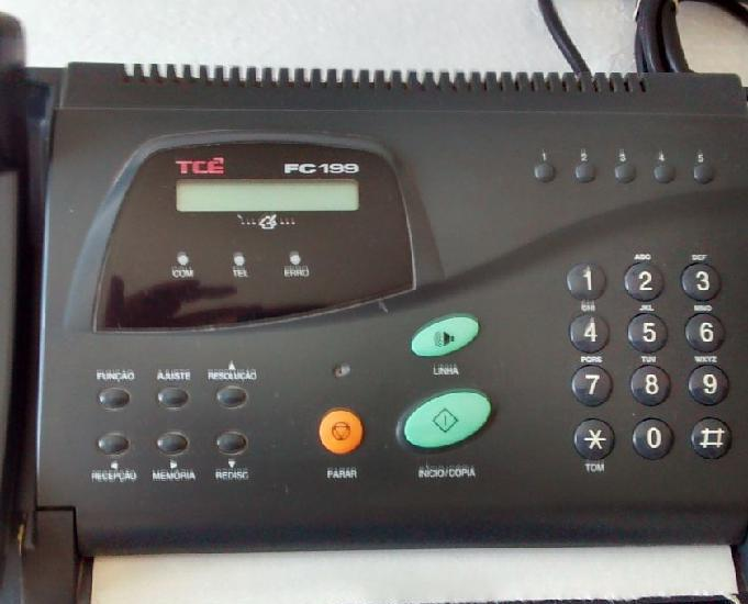 Fax tce fc199 fac-simile usado para colecionadores