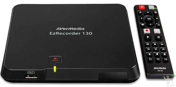 Gravador de video e tv ezrecorder - er130 avermedia