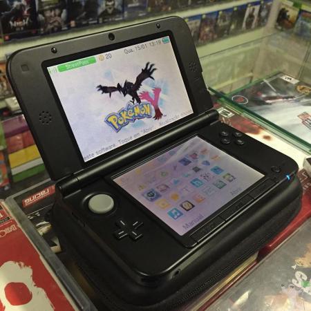 NINTENDO 3DS XL DESTRAVADO ACOMPANHADO 2 jogos originais