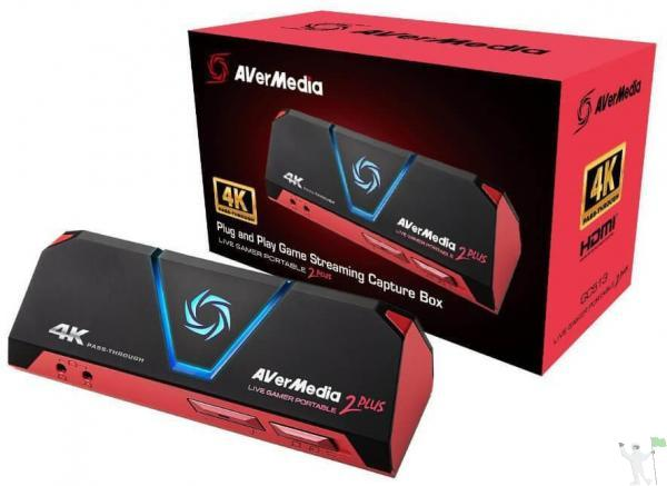 PLACA DE CAPTURA AVERMEDIA LIVE GAMER PORTABLE 2 - GC513 - A