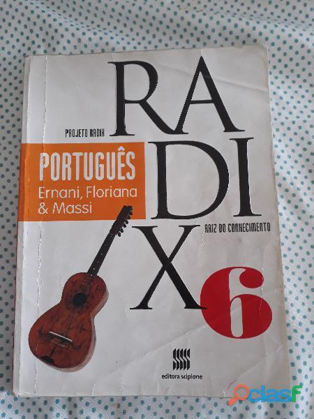 Livro projeto radix português 6º ano 3ª edição (aluno)