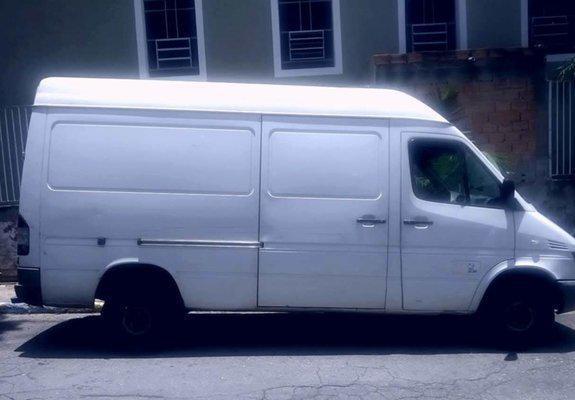 Sprinter 2005 teto alto longa como caminhonete na