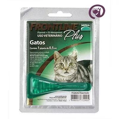 Frontline plus gatos merial antipulgas