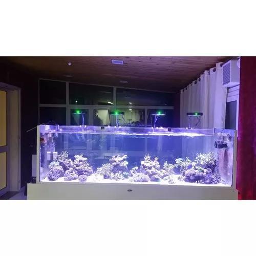 Luminária led moon led plus coral box 59w aquario marinho