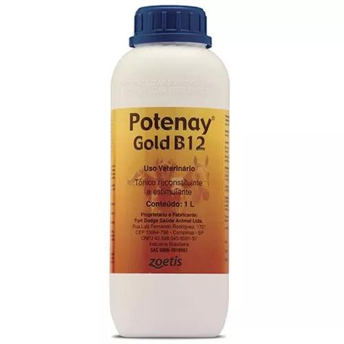 Potenay gold b12 tônico reconstituinte e estimulante 1