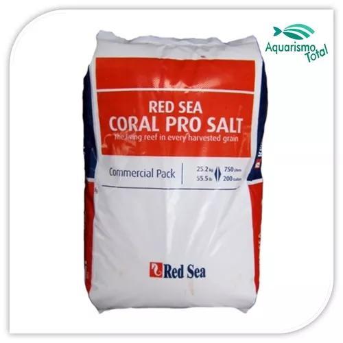 Red sea coral pro salt 25,2kg sal p/ aquário marinho p/