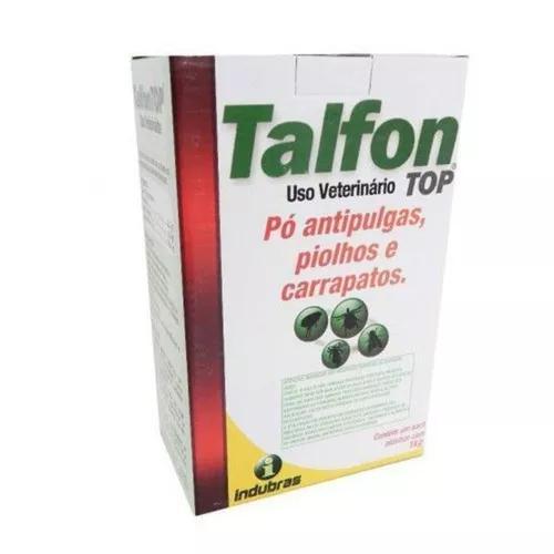 Talfon top 1kg pó carrapatos piolhos mata pulgas