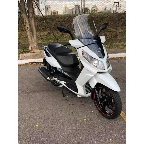 Moto dafra citycom 300 cbs -impecável- documentos 2019