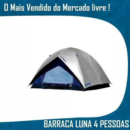 Acampar impermeavel barraca 4 pessoas camping tendas atacad