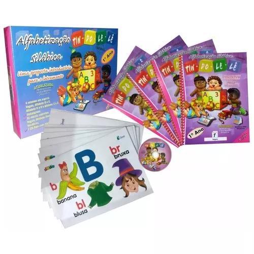 Alfabetização silábica tindolelê - 1ºano 5 a 6 anos +