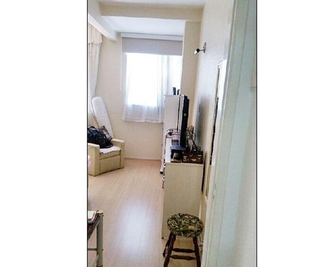 Apartamento 01 dormitório svaga -santa cecília - central