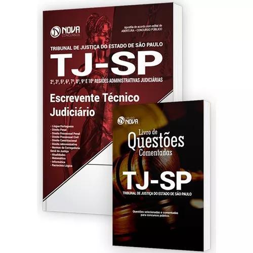 Apostila escrevente técnico judiciário - tj-sp - edital