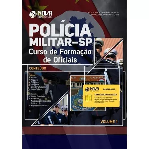 Apostila pm-sp 2018 - curso de formação de oficiais