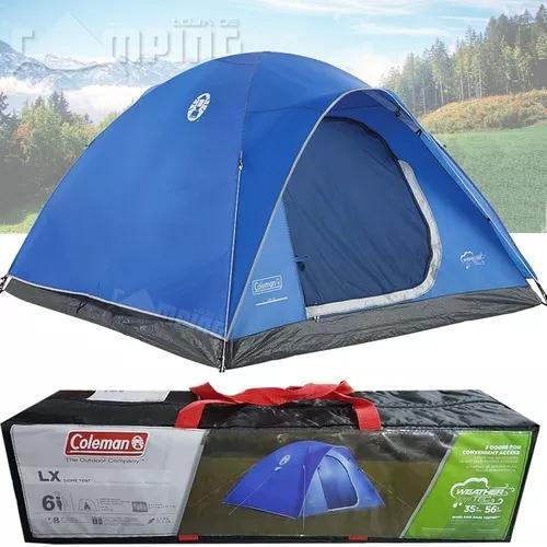 Barraca acampamento camping impermeavel lx 6 pessoas col