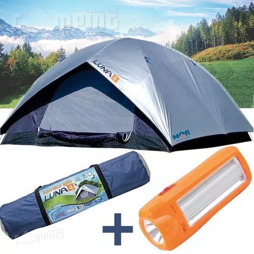 Barraca acampamento camping impermeável 4 pessoas+