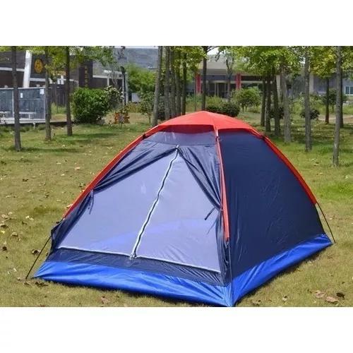 Barraca camping 2 pessoas acampamento /praia azul vermelha