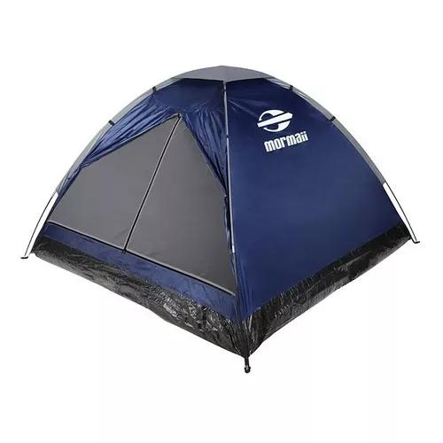 Barraca de camping para 4 pessoas - bali 4 azul - mormaii