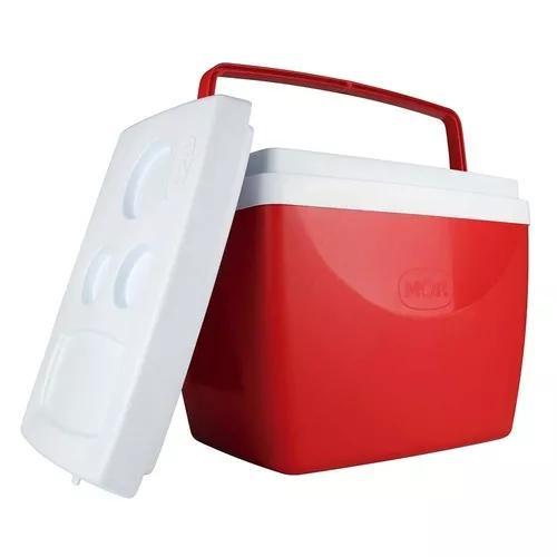 Caixa térmica 34 litros 50 latas camping mor full