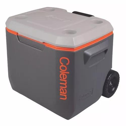 Caixa térmica cooler com rodas 50 qt 47,3 l col