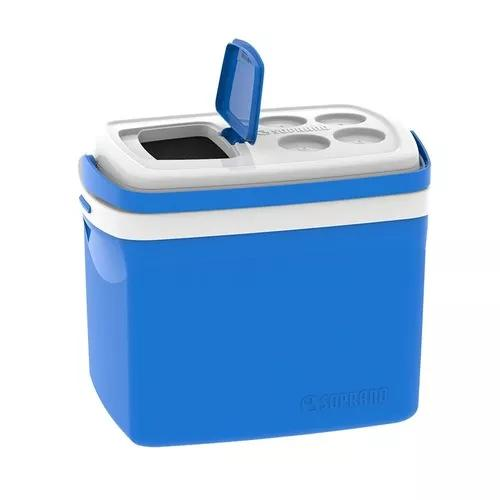 Caixa térmica c/tampa abre fácil 32 litros - soprano